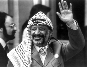 arafat11 - What is a Keffiyeh ?  - Question and Answer